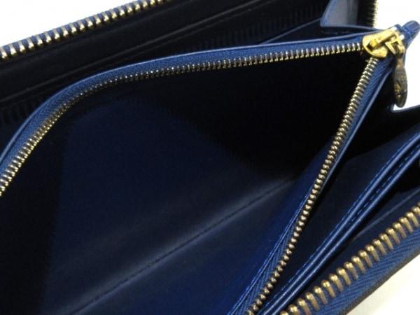 ルイヴィトン 長財布 モノグラムヴェルニ ジッピー・ウォレット M90047 グランブルー