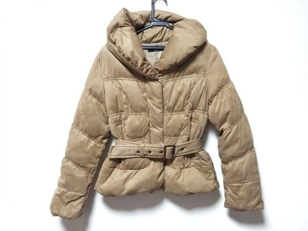 VICKY(ビッキー) ダウンコート サイズ2 M レディース ライトブラウン ショート丈/冬物