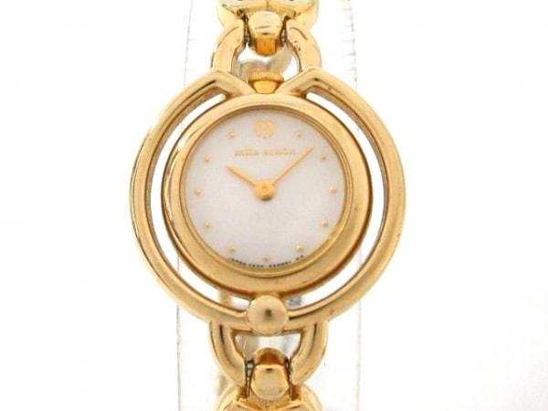 mila schon(ミラショーン) 腕時計 4520-E50714Y レディース 白