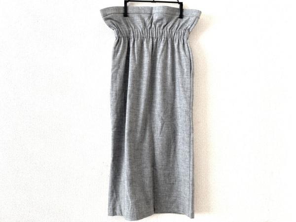 ハニーミーハニー スカート サイズF レディース美品  ライトグレー ウエストゴム