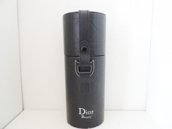 Dior Beauty(ディオールビューティー) 小物入れ 黒 メイクブラシケース レザー