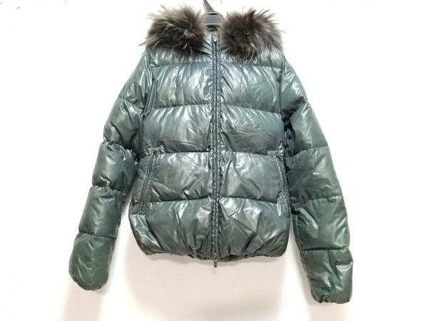 デュベティカ ダウンジャケット サイズ40 M レディース Adhara ダークグリーン 冬物