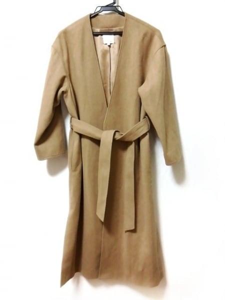 TODAYFUL(トゥデイフル) コート サイズ38 M レディース ベージュ ロング丈/冬物