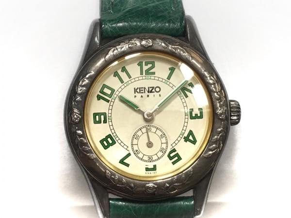KENZO(ケンゾー) 腕時計 KN-7104 レディース 白