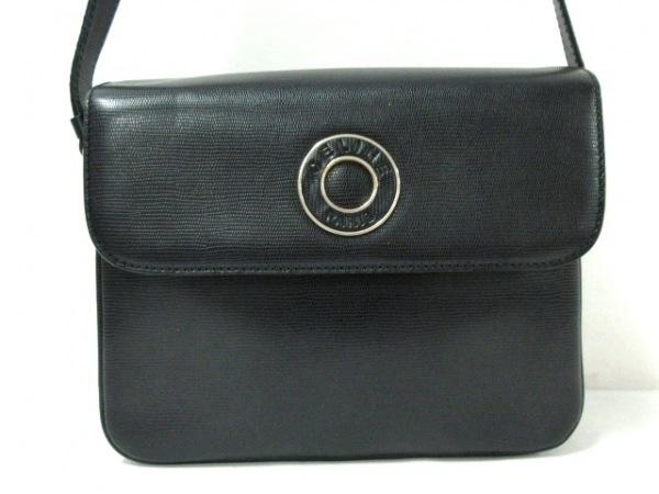 CELINE(セリーヌ) ショルダーバッグ - 黒 型押し加工 レザー