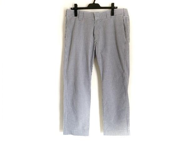 Dickies(ディッキーズ) パンツ サイズ34 S メンズ美品  ブルー×白 チェック柄