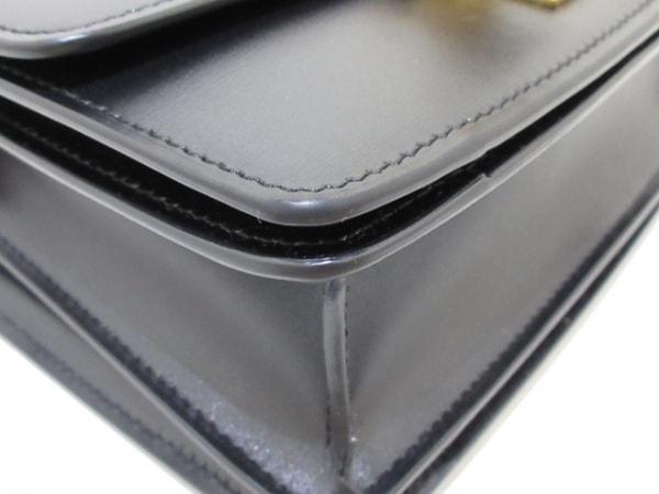 CELINE(セリーヌ) ショルダーバッグ美品  クラシックボックス スモール 黒 レザー