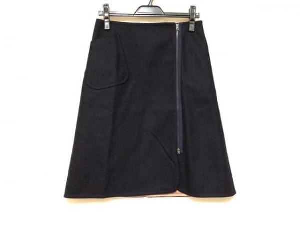 JILSANDER(ジルサンダー) スカート サイズ36 S レディース美品  ダークネイビー