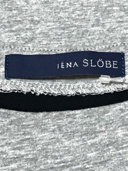 IENA SLOBE(イエナ スローブ) ワンピース サイズF レディース美品  ライトグレー