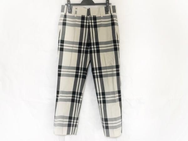 ソフィードール パンツ サイズ36 S レディース美品  白×グレー×黒 チェック柄