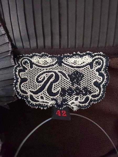 ROSSA(ロッサ) 長袖カットソー サイズ42 L レディース ブラウン メッシュ