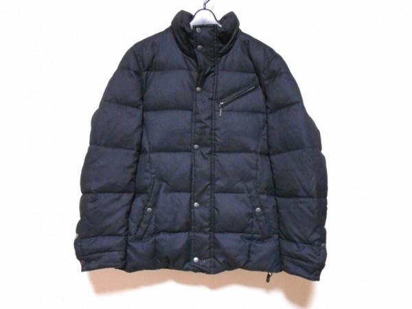 HIDEAWAYS NICOLE(ハイダウェイニコル) ダウンコート サイズ46 XL メンズ 黒 冬物