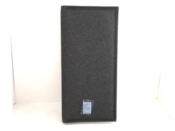 dunhill/ALFREDDUNHILL(ダンヒル) 札入れ新品同様  黒 PVC(塩化ビニール)×レザー