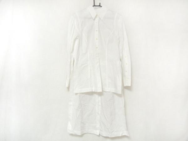 アキラナカ 長袖シャツブラウス サイズ1 S レディース美品  白 変形デザイン