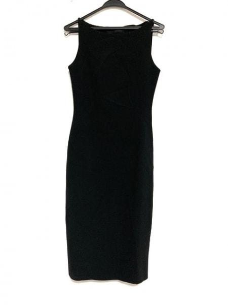 アレッサンドロデラクア ワンピース サイズ38 M レディース美品  黒