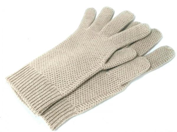 ALPO(アルポ) 手袋 メンズ美品  グレー カシミヤ