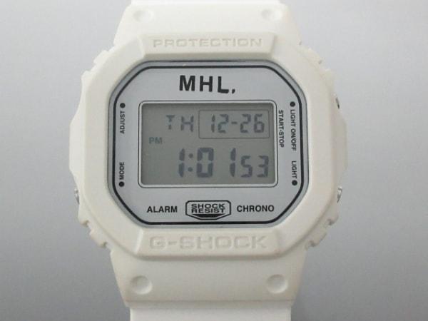 カシオ 腕時計 DW-5600VT レディース ラバーベルト/MHL. カーキ×ライトグレー×黒