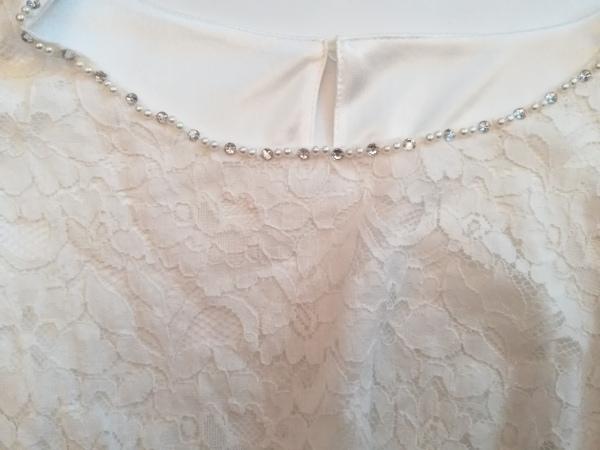 Tiaclasse(ティアクラッセ) 七分袖カットソー サイズM レディース 白