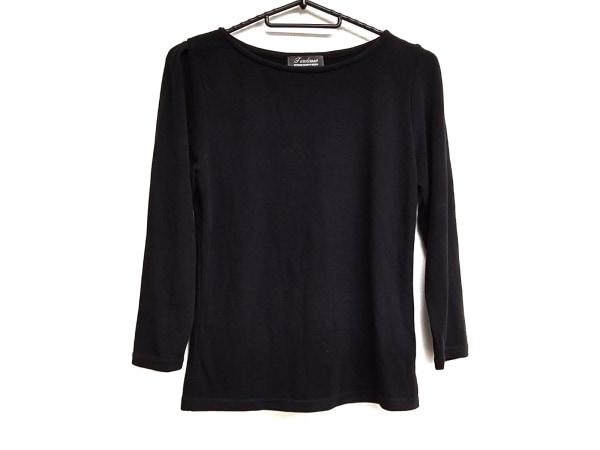 Tiaclasse(ティアクラッセ) 七分袖セーター サイズM レディース美品  黒