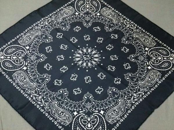 manipuri(マニプリ) スカーフ美品  黒×白