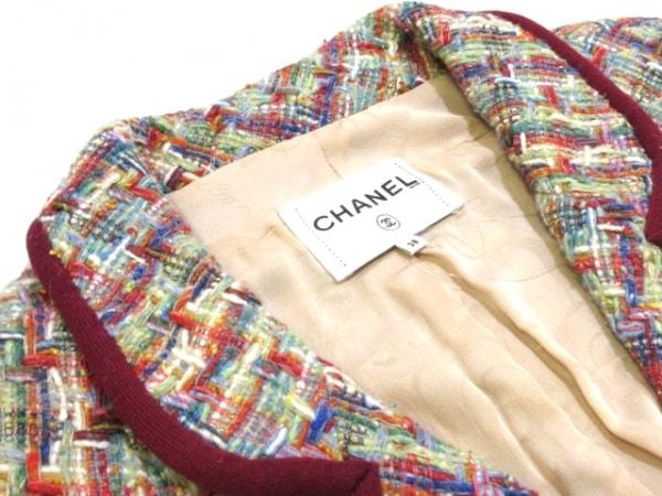 シャネル ジャケット サイズ38 M レディース - P56262 グリーン×レッド×ブルー