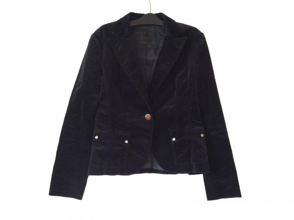 ReFLEcT(リフレクト) ジャケット サイズ40 M レディース 黒 ベロア