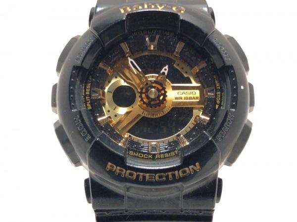 CASIO(カシオ) 腕時計 Baby-G BA110 レディース ラバーベルト 黒