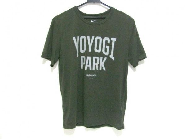 ギャクソウ 半袖Tシャツ サイズM メンズ カーキ×グレー NIKE×UNDERCOVER LAB