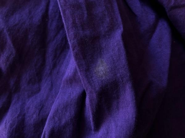 スナオクワハラ ワンピース サイズM レディース パープル 刺繍/スパンコール