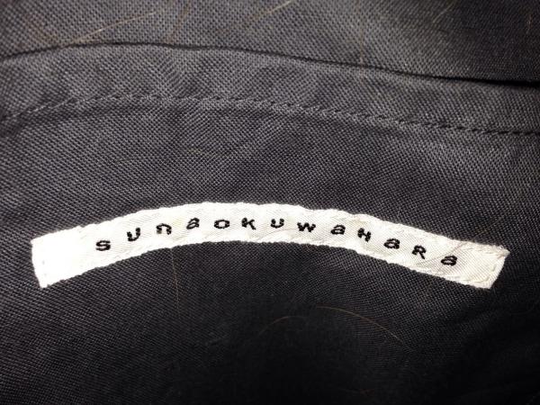 sunao kuwahara(スナオクワハラ) トートバッグ グレー×ブラウン×ベージュ 迷彩柄