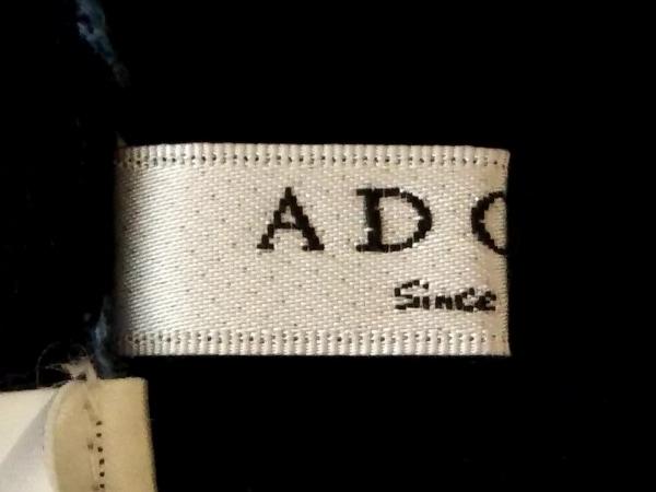 アドーア ワンピース サイズ38 M レディース ブルー×黒 ニット 3