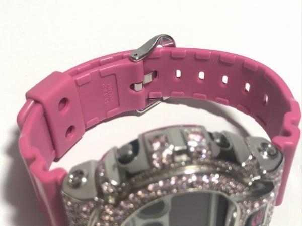 CASIO(カシオ) 腕時計美品  G-SHOCK DW-6900CS レディース ラインストーンベゼル