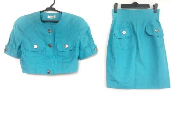 VICKY(ビッキー) スカートセットアップ サイズ9 M レディース ブルー