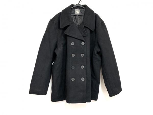 SPIEWAK(スピーワック) Pコート サイズ4X メンズ美品  黒 冬物