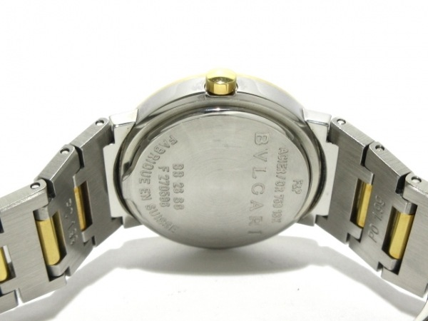BVLGARI(ブルガリ) 腕時計美品  ブルガリブルガリ BB26SG/BB26SGD レディース 黒