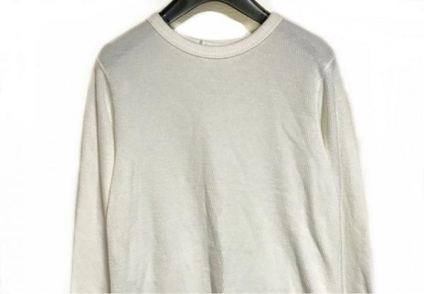 PHEENY(フィーニー) 長袖セーター サイズF レディース アイボリー 変形デザイン