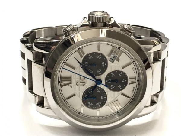 Gc(ジーシー) 腕時計 GC41008G メンズ クロノグラフ シルバー