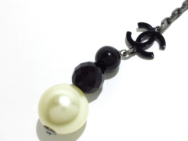 CHANEL(シャネル) ネックレス美品  フェイクパール×プラスチック×金属素材
