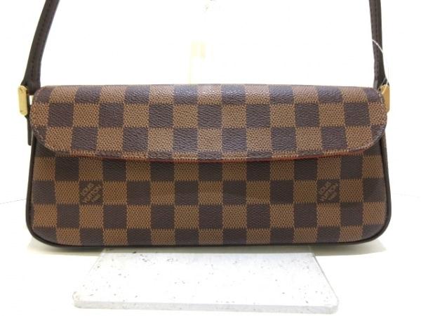 ルイヴィトン ハンドバッグ ダミエ レコレータ N51299 エベヌ ダミエ・キャンバス