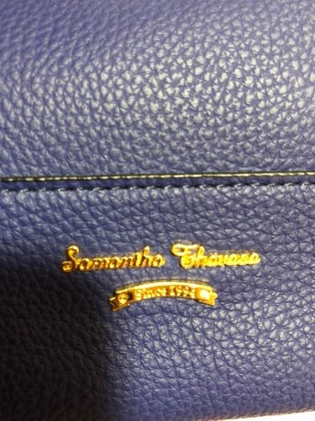 Samantha Thavasa(サマンサタバサ) トートバッグ美品  ネイビー 合皮