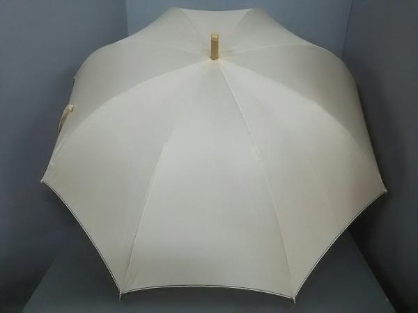 Burberry(バーバリー) 傘美品  ベージュ×アイボリー ポリエステル×レーヨン