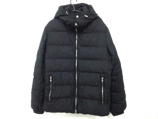 タトラス ダウンジャケット サイズ4 XL メンズ美品  MTA13A4102 ダークグレー 冬物