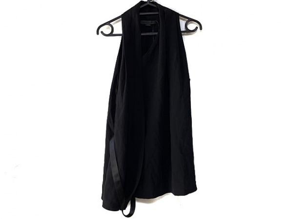 アレキサンダーワン ノースリーブカットソー サイズ2 S レディース美品  黒