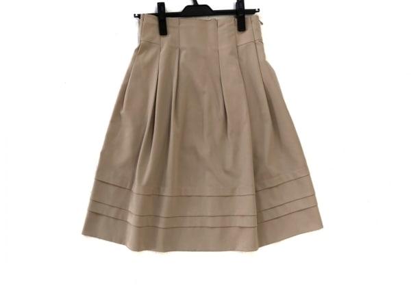 フォクシーニューヨーク スカート サイズ38 M レディース新品同様  ベージュ
