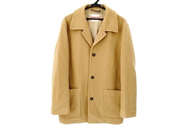 McGREGOR(マクレガー) コート サイズL メンズ美品  ブラウン 冬物