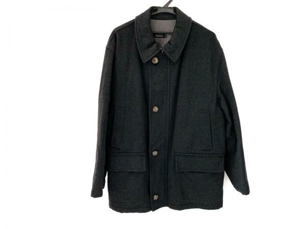 BARNEYSNEWYORK(バーニーズ) コート サイズ8 メンズ美品  ダークグレー 冬物