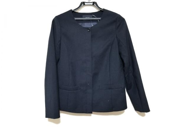 SHIPS(シップス) ジャケット サイズM レディース美品  黒