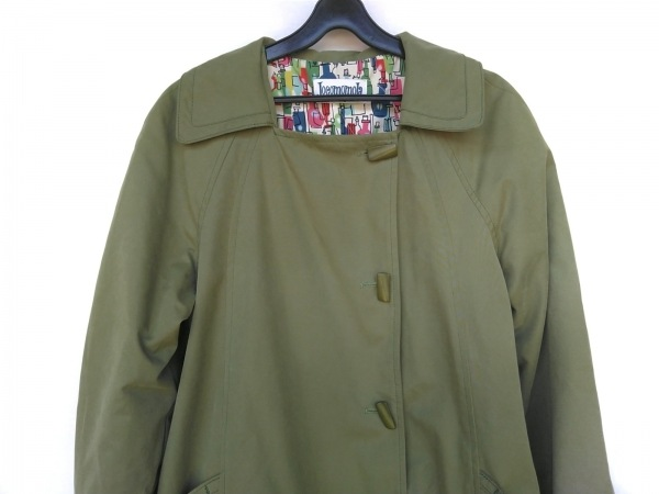 JOCOMOMOLA(ホコモモラ) コート サイズ40 XL レディース グリーン 春・秋物