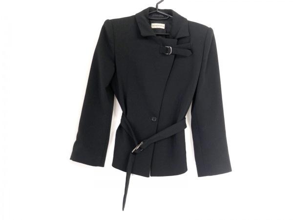 EMPORIOARMANI(エンポリオアルマーニ) ジャケット サイズ42 M レディース 黒