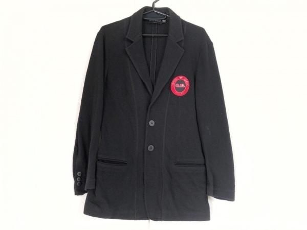 EMPORIOARMANI(エンポリオアルマーニ) ジャケット サイズM メンズ 黒×レッド